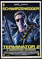 Manifesto Terminator 2 El Giorno De Juicio Arnold Schwarzenegger Cine P10