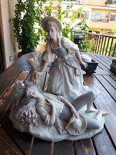 Figura de porcelana LLadró la siesta pastoral mate año 1981 muy buen precio