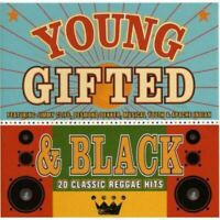 YOUNG GIFTED & BLACK - 20 CLASSIC REGGAE HITS various (CD, album, compilation)