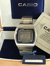 Casio Casiotron 29CS-11 World Time Quartz LCD LED Watch