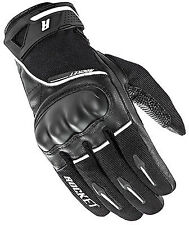 New Joe Rocket Super Moto Black/White Motorcycle Street Glove-Size Adult XL
