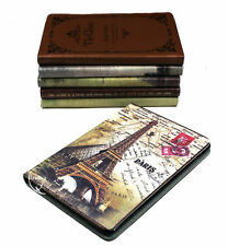 IPAD 2/3/4 Gen Paris Eiffel Fashion Leather Smart Cover Kickstand NEW Protection