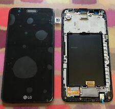 Véritable Noir LG K10 2017 M250 remplacement écran Cadre écran LCD ACQ89404803