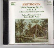 (FH178) Beethoven: Violin Sonatas, Op. 12 - 1993 CD