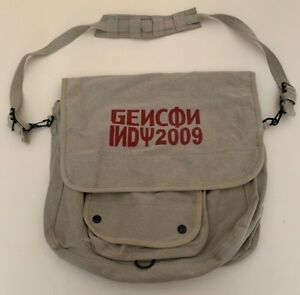 Gen Con 2009 Messenger Bag Indy Indianapolis Gamers Unite Russian Font