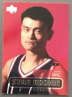 YAO MING Houston Rockets 2002/03 ROOKIE CARD Upper Deck STAR RC #210