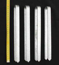 4 pièces ancrage de sol pour ARC ROSE 30 cm galvanisé Pointe Piquet de terre