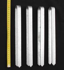 4 Stück Bodenanker für Rosenbogen 30 cm verzinkt Erdspieß Bodenspieß Erdanker