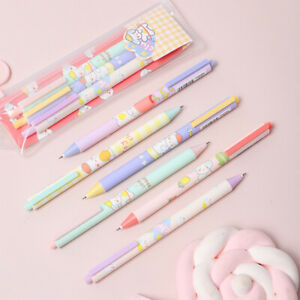 Kawaii Black Ink Gel Pen Exam Signing Retractable Pens Office School Supplies