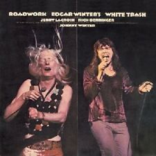 Edgar Winter's White Trash Roadwork Live CD NEW SEALED Johnny Winter