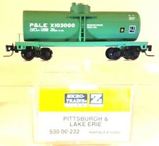 Z MTL 530 00 232 Pittsburgh & Lake Erie P&LE 39' Single Dome Tank Car LNIB