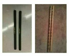 2 Foam Escrima & 2 Burn Rattan Arnis Sticks Kali Training Weapon Set 26""