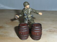 1/32 SCALE SOLID RESIN HAND PAINTED BARRELS FOR SCENES & DIORAMAS 2 PACK SEE PIC