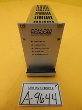 ASML 6001-0202-2801 Prodrive Controlled Power Module CPM-P20 4022-470-8838 Used