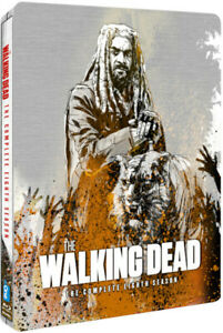 The Walking Dead Season 8 Limited Edition Steelbook (Blu-ray) Andrew Lincoln