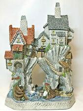David Winter Wreckers Cottages Premier Edition 1153/2200 P Coa Original Box Mint