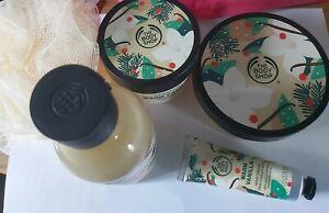 Body Shop DISCONTINUED Warm Vanilla Bundle