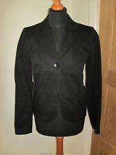 TOP SHOP TOPSHOP woman's SIZE 10-12 BLACK VINTAGE SMART blazer jacket