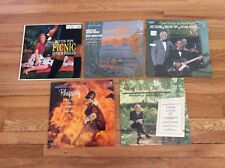 Lot of 5 ARTHUR FIEDLER & BOSTON POPS RHAPSODY~Chet Atkins~PICNIC~Grand Canyon +