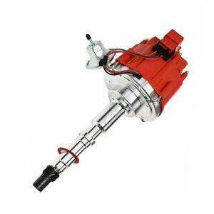 HEI Distributor JEEP AMC WAGONEER CJ7 CJ5 304 360 401 V8 Red 65K Volt Coil (2667