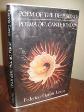 1st Edition POEM OF THE DEEP SONG Federico Garcia Lorca POETRY First Printing