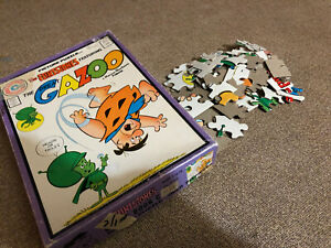1976 The Flintstones The Great Gazoo Puzzle Comic Book Cover missing 1 piece