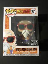 Funko Pop! #381 DragonBallZ Master Roshi (Peace Sign) FYE Exclusive