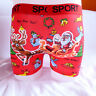Funny Red Xmas Christmas Gift Santa Cotton Mens Boxer Shorts Trunks L XL 2XL 3XL