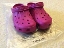Crocs Ralen Clogs Candy Pink Roomy Fit Unisex Sz M 5/ W 7