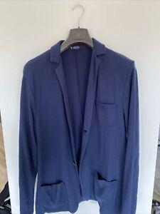 Breuer 3XL Navy Blue Jacket 100%cotton