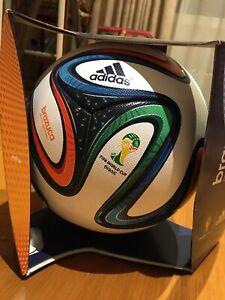 2014 WORLD CUP BALL BRAZUCA OFFICIAL MATCH BALL