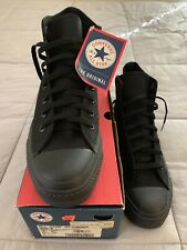 New Vintage 90s American Made Converse All Star Black Chuck Taylor Mens 10.5