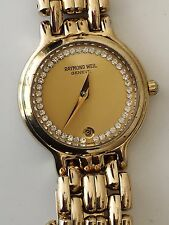 Ladies Raymond Weil Chorus, 18k Gold Plated, Stainless Steel, Luxury Watch