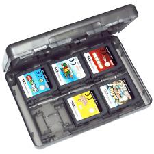ZedLabz game case for Nintendo 3DS 2DS DS 24 in 1 card holder storage box black