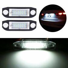2 Rear LED Number License Plate Light Lamp For Volvo V50 V60 S40 XC60 ERROR FREE
