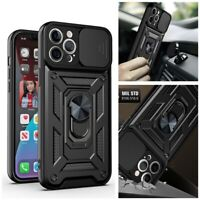 Shockproof Ring Holder Hard PC Case Cover For iPhone 12 Pro Max 11 SE XR XS 8 7