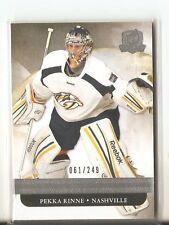 2011-12 The Cup #50 Pekka Rinne 061/249 Nashville Predators