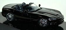 Dodge Viper SRT-10 Roadster Cabriolet 2003-10 Black Black 1:43 autoart
