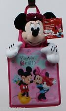 Disney Minnie Mouse You're Neat Plush in a Pink Fabric Gift Tote Bag Set NWT