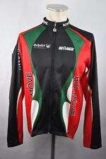 R.V. mouette Fusion Roue Veste Cycle Jacket BIO RACER taille L coton 60 cm Vélo x1