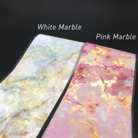 100cm Pink Nail Foil Sticker Starry Sky Transfer Paper Marble Nail Art Decal New