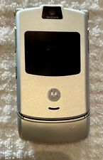 FIRST RELEASE for collectors motorola razor flip phone 4ltr-v3 USED