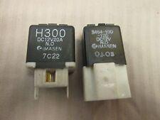 QUANTITY 2  IMASEN Mazda  Relay H300  DC12V20A & 3464-10-120 DC12V