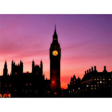 Big Ben Reloj Londres Pared Arte Impresión