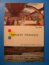 Railway Progress 1956 May Dutch Railways Dome cars
