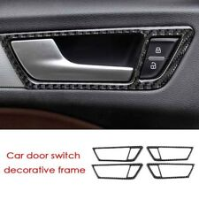 Carbon Fiber Door Handle Frame Cover Trim für Audi Q5 B8 A06