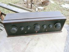 1920's TABLE TOP RADIO in WOOD CABINET/PARTS atwater rca crosly