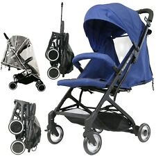 #iSafe Super MiNi Stroller NAVY Limited Edition Compact Foldaway Lightweight