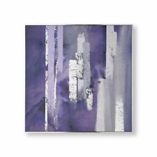 Art for The Home Purple Harmony Hand Painted Canvas