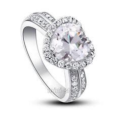 Gioielli di lusso cuore diamante anniversario